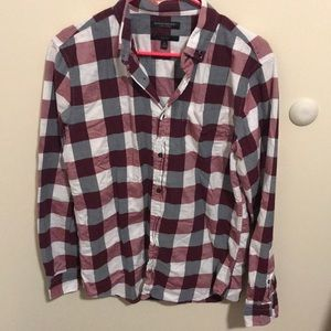 Banana Republic Male Flannel (Medium)